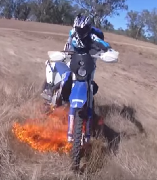 DIRTBIKE FIRE
