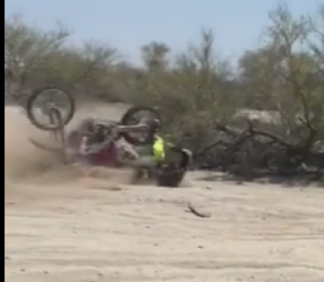 BAJA 500 RYAN PENHALL CRASH